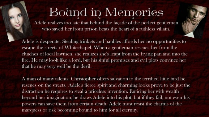 Bound in Memories Blurb
